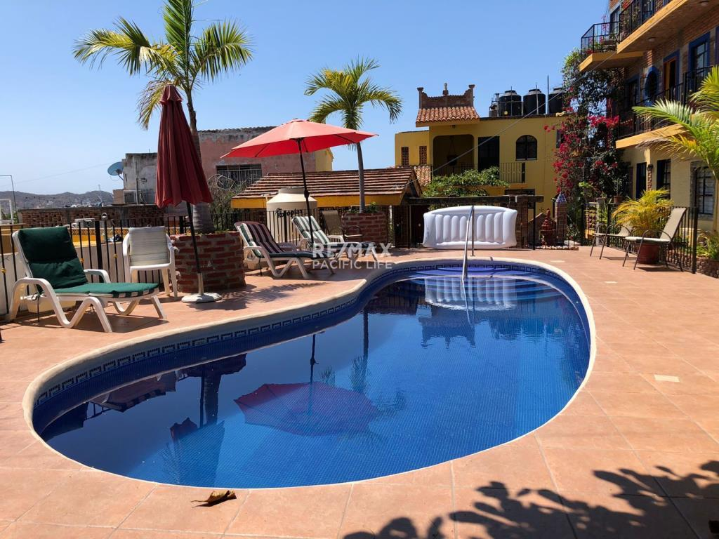 Condominium for Rent at Old Mazatlan, at El Centro de Mazatlan